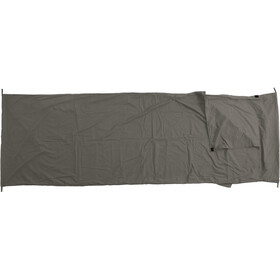 Basic Nature Mixed Sleeping Bag Liner Blanket Shape anthracite